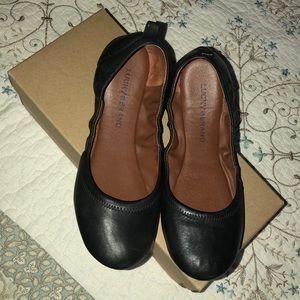 240547fe3c2d1 Lucky Brand Shoes   Allways Slipon Brown Leather Flats   Poshmark